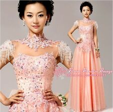 FS233 Women's Formal Evening Prom Party Dress Bridesmaid Dresses Ball Gown Gift