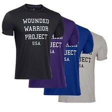 Under Armour 1251691 Men's WWP USA T-Shirt Tee Wounded Warrior Blue All Sizes