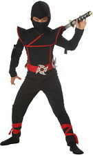 Boys Stealth Ninja Halloween Costume Kids Children