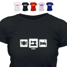 Sewing Machine Gift T Shirt Sew Daily Cycle