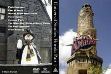 Universal Studios Orlando Part 1 - Islands of Adventure DVD or Blu-Ray (NEW)