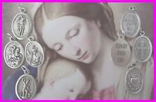 Various Catholic Religious Patron St Saint Medals Charms Made in Italy