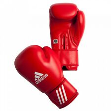 Adidas AIBA Competition Boxing Gloves - Red