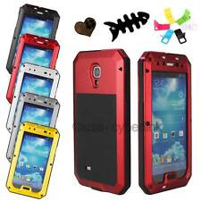 Aluminum Metal Gorilla Glass Shock/Water Proof Case for Samsung Galaxy S4 I9500