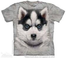 SIBERIAN HUSKY PUPPY CHILD T-SHIRT THE MOUNTAIN ---IN STOCK!!