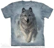 "WOLF ""SNOW PLOW"" CHILD T-SHIRT THE MOUNTAIN ---IN STOCK!!"
