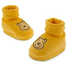 WiNNiE The PooH~Gold~SLIPPERS~SoFt~SHOES~InFanT~Costume~Disney baby Store~2014