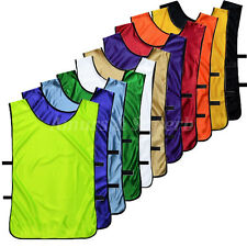 HOT Scrimmage Vests Soccer Basketball Football Pinnies Jerseys 12 Colors