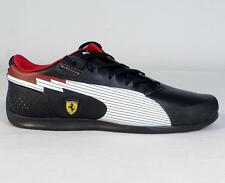 Puma Evo Speed Ferrari Sports Car Racing Black & White Casual Shoes Mens NEW