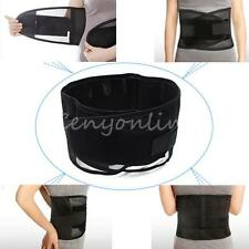 Double Pull Breathable Lumbar Lower Back Pain Support Belt Brace Protector US