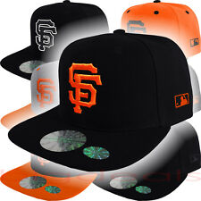 San Francisco Giants Cap Snap Back MLB SF Logo Hat Embroidered On Field Game