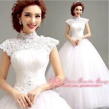 FS262 Women's Wedding dress White Dress Formal Dress Bride Dress Ball Gown Gift