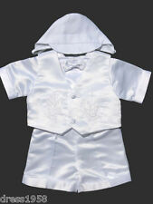 Boy Baby, Toddler Christening Baptism Outfit, Dove/ Cross ,Sz:X-Small to 4T