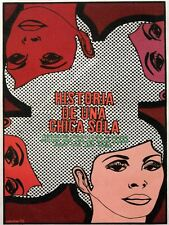 8581.Historia de un a chica sola.images of women.POSTER.movie decor graphic art
