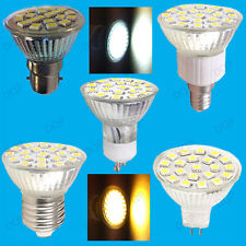 4.8W LED Spot Light Bulb GU10 MR16 E14 E27 B22 Warm White or Daylight Lamps
