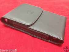 VERTICAL LEATHER CASE Fits WITH EXTENDED BATTERY fr Sony Cell Phones New
