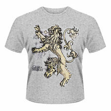 GAME OF THRONES Lion Here Me Roar Lannister T-SHIRT NEU