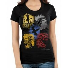 GOT Game of Thrones Women's Paint Splatter Sigils  Junior T-shirt GT13