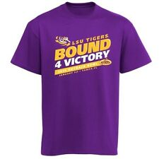 LSU Tigers Football 2014 Outback Bowl 4 Victory t-shirt NWT NCAA SEC Geaux new