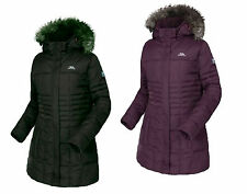 RRP £100 TRESPASS LADIES 50% DOWN 50% FEATHER INSULATED LONG LENGTH JACKET Tsny