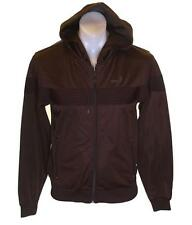 Bnwt Authentic Mens Gio Goi Zipped Hoodie Tracksuit Top New Nangster Brown Small
