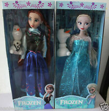 Classic Doll gift Disney Frozen Queen Elsa and Princess Anna olaf Doll Toy 12'