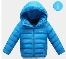 2014 new baby boys and girls down jacket children's clothing coat jackets