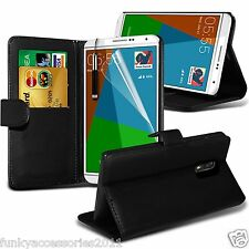 Samsung Galaxy Note 4 PU Leather Book Wallet Stand Case Skin Cover+SP+Stylus Pen