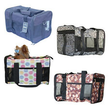 Color Soft Portable Dog Pet Puppy Travel House Kennel Tote Crate Carrier Bag