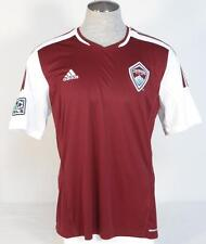 Adidas ClimaCool MLS Colorado Rapids Burgundy Soccer Jersey Youth Boys NWT