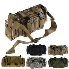 Waterproof Utility Tactical Waist Pack Pouch Military Camping Bag Outdoor #T1K