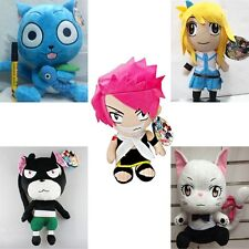 Happy Cat Soft Plush Toys Anime Fairy Tail Pantherlily Carla Stuffed Dolls