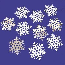 Foil Snowflake Cutouts - Christmas & Winter Party Decorations - Choose Quantity