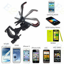 Universal GPS Phone Bicycle Bike Handle Mount Holder Clip Cradle Braket Stand