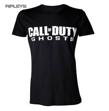 Official T Shirt CALL OF DUTY Xbox Game BLACK LOGO Ghosts All Sizes