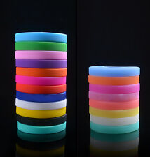 Exquisite Trendy Silicone Elasticity Wristband Wrist Bands Bracelet Bangle HUCA