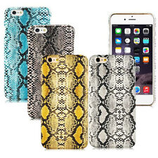 "For Iphone 6 Plus 5.5""  New Snake Skin Leather Design Hard case back cover"