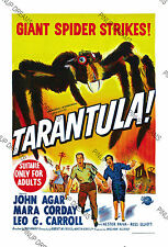 Tarantula, Sci-Fi Movie Poster Re-print - Vintage Retro Cult Film, A4, A3, A3+