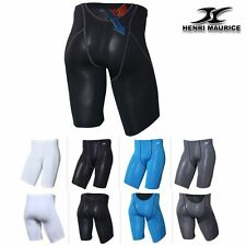 Mens Skin tight Compression Under Base Layer Mesh Shorts Sports short Pants FP