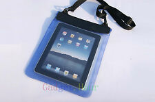 "Blue Waterproof Dry Bag Pouch Case Cover FOR PC Tablet TAB 9.7"" 10"" 10.1"" 4th"