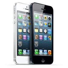 Unlocked Apple iPhone 5 LTE 16GB Black and White Smartphone