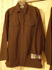MENS Solid Brown WINTER JACKET w/Lining NWT Medium or Large Faded Glory