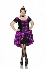 Plus Size Wild West Showgirl Moulin Rouge Burlesque Can Can Dancer Saloon Girl