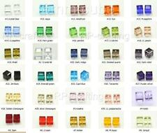25 Top Quality 6mm Austria cube crystal beads Charms For Swarovski #5601-U pick