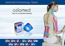 20x asiamed Kinesiologie Tape, Kinesiology Taping sport tapen - 2.25€/Rolle