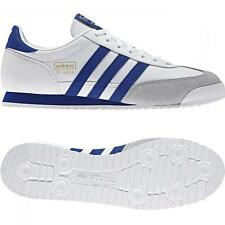 ADIDAS ORIGINALS MENS DRAGON TRAINERS WHITE BLUE SIZE 6 - 12.5 SNEAKERS SHOES