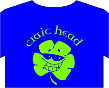 St patricks day paddys tee shirt mens craic irish joke bars clubs biker computer