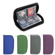 SD SDHC MMC CF Micro Memory Card Storage Carrying Pouch Case Holder Wallet