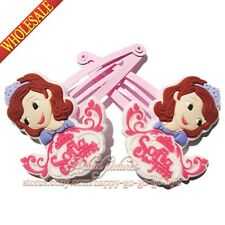 1pairs Sofia the first Princess Kids Girls Hair Accessories/Hair Clip/Hair Bands