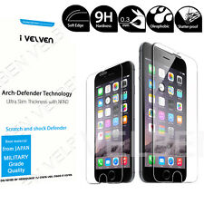 9H Real Tempered Glass screen Protector+Full body skin film for iPhone 6 7 Plus